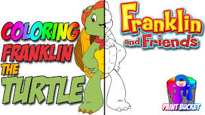 franklin the turtle coloring pages nickelodeon nick jr coloring