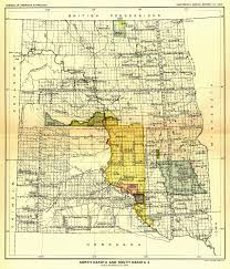 Map North Dakota Indian Land Cessions In The U S North Dakota And South Dakota 2