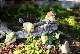 garden decorative birds home design animals artificial resin