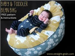 free pattern and tutorial baby and toddler bean bag u2013 straightgrain