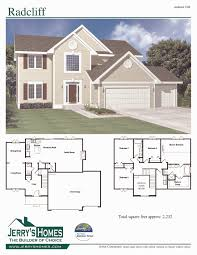 tremendeous 4 bedroom 2 story country house plans interior on home