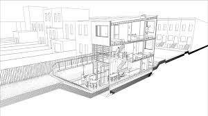 Rowhou Com by Brooklyn Row House 3 Office Of Architecture U2022