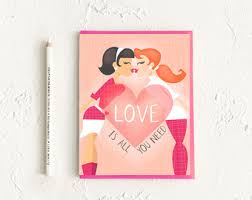lgbt card wedding card engagement card