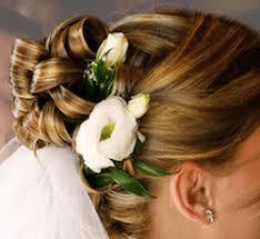 Hochsteckfrisurenen Brautfrisuren Schleier by Brautfrisur Mit Blumen Und Schleier Hochzeits Haare