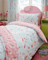 double duvet set unicorns fairies u0026 rainbows double quilt cover