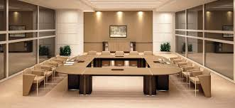 Square Boardroom Table Contemporary Conference Table Wooden Square Modular