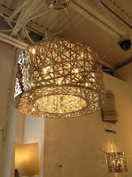 chandelier floor lamp crystal crystals modern lamps lighting store