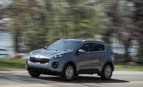 kia jeep sportage 2018 kia sportage in depth model review car and driver