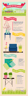 home decor infographic spruce up for spring freshen up your home infographic