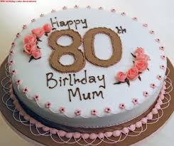 80th birthday cake decorations image inspiration of cake and