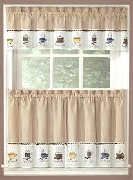 cappuccino curtains kitchen kitchen curtains walmart home