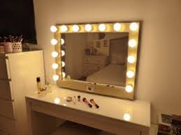 buy makeup mirror with lights magnifying makeup mirror with light wall mounted in plush lighted
