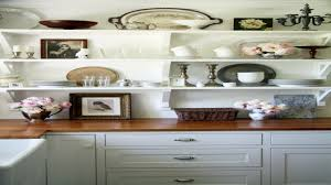 open kitchen shelves rustic shelving feafa tikspor