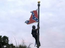 Battle Flag Confederate Flag Flying Again After Activist Bree Newsome Took It