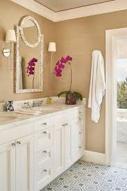 gold bathroom ideas white and gold bathroom with gray tile floor transitional bathroom