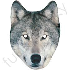 wolf mask wolf mask personalised and masks with next day delivery