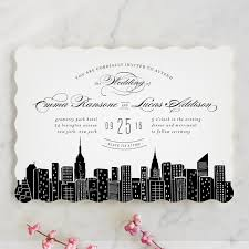 wedding invitations new york big city new york city wedding invitations by hooray creative