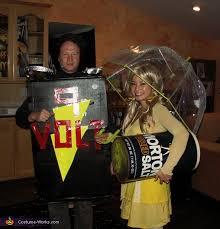 Salt Pepper Halloween Costumes Salt Battery Halloween Costume
