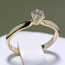 inel diamant de logodna din aur sau platina cu diamant i009