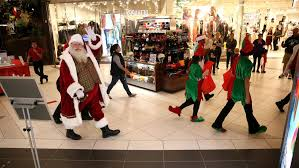 Woodfield Mall Thanksgiving Hours Santa Comes To A Mall Near You For A Price Chicago Tribune