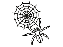 how to draw a halloween spider step by step spiders coloring
