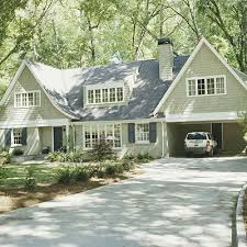 one and a half story home design brick ranch living spaces and