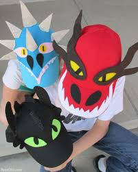 how to train your dragon easy baseball hats with free printable