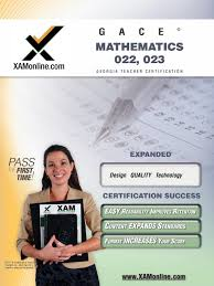 gace mathematics 022 023 teacher certification test prep study