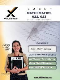 gace mathematics 022 023 teacher certification test prep study