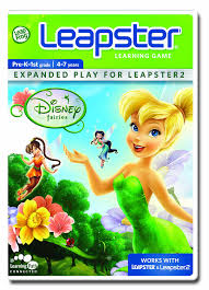 amazon com leapfrog leapster learning game disney fairies toys