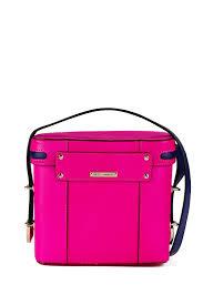 rebecca minkoff collin camera bag in pink lyst