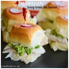 thanksgiving healthier turkey sandwich using king s hawaiian