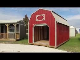 Red Barn Kennel New Derksen Z Metal Lofted Barn Youtube