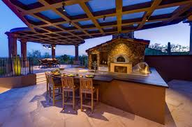 outdoor kitchen designs with pizza oven amazing outdoor kitchen