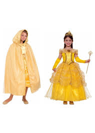 beast halloween costume girls beauty and the beast belle costume and hooded cape girls