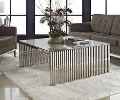 design couchtisch weiãÿ design couchtisch edelstahl glas ideen für wohnzimmer möbel mit