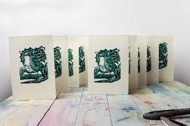 how to make your own linocut christmas cards jackson u0027s art