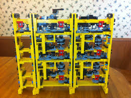lego technic pieces a babbage difference engine built with lego pieces