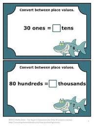 14 best place value activities images on pinterest math