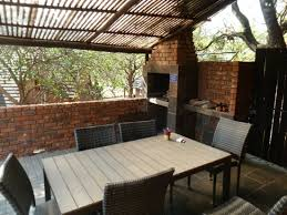Patio Braai Designs Our Spacious Patio With Built In Braai Picture Of Mount Amanzi