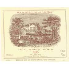 learn about chateau lafite rothschild chateau lafite rothschild 1996 wine