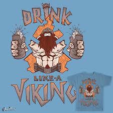 score drink like a viking by berksergio on threadless