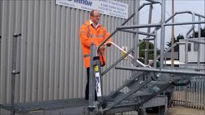 safe tanker access folding stairs for road u0026 rail tankers and