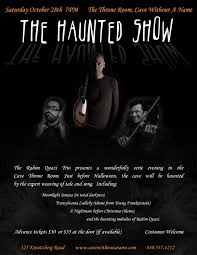 the haunted show 2017 cave without a name