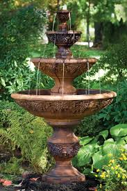 Backyard Fountains Ideas Backyard Water Features For Small Yards Rock Designs Home