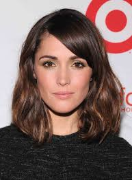shoulder hairstyles with volume medium length casual hairstyles with side bangs and highlight for
