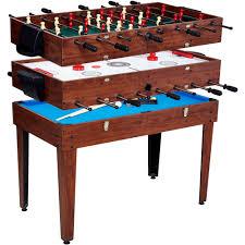 foosball table air hockey combination md sports 48 3 in 1 combo table walmart com