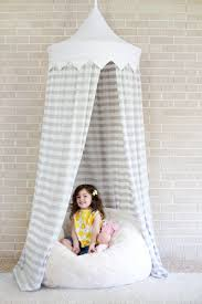 20 home diy projects designed with kids in mind hula hoop tent