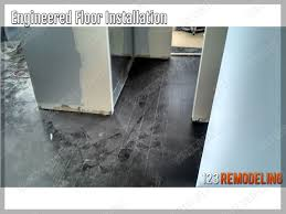 Engineered Flooring Installation Downtown Chicago Condo Engineered Flooring Installation 123