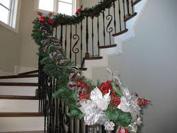 Banister Decorations For Christmas Living Room Decorating Ideas For Small Spaces Christmas Stair